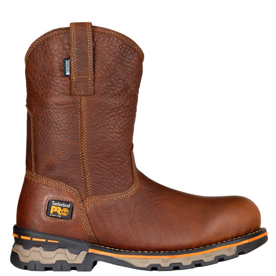 Men's Timberland PRO® AG Boss Alloy Toe Pull-On Work Boots