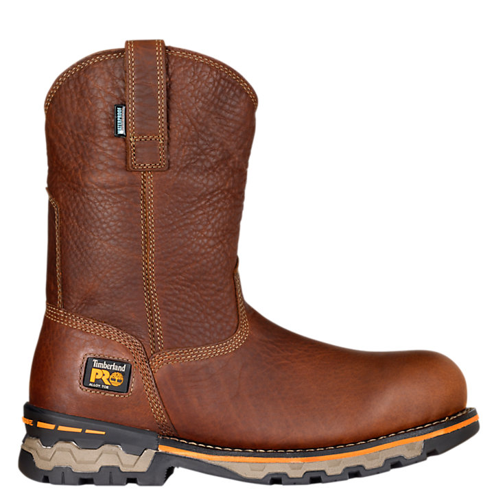 6700e7ead78 Men's Timberland PRO® AG Boss Alloy Toe Pull-On Work Boots | Timberland US  Store