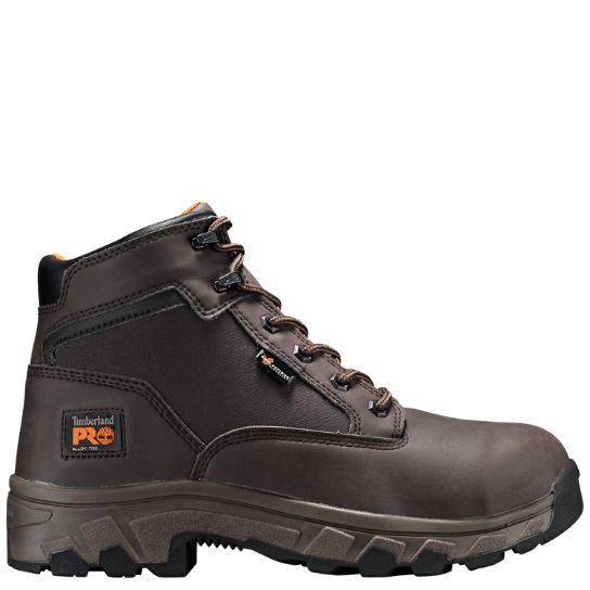 "Men's Timberland PRO® Linden 6"" Alloy Toe Work Boots"