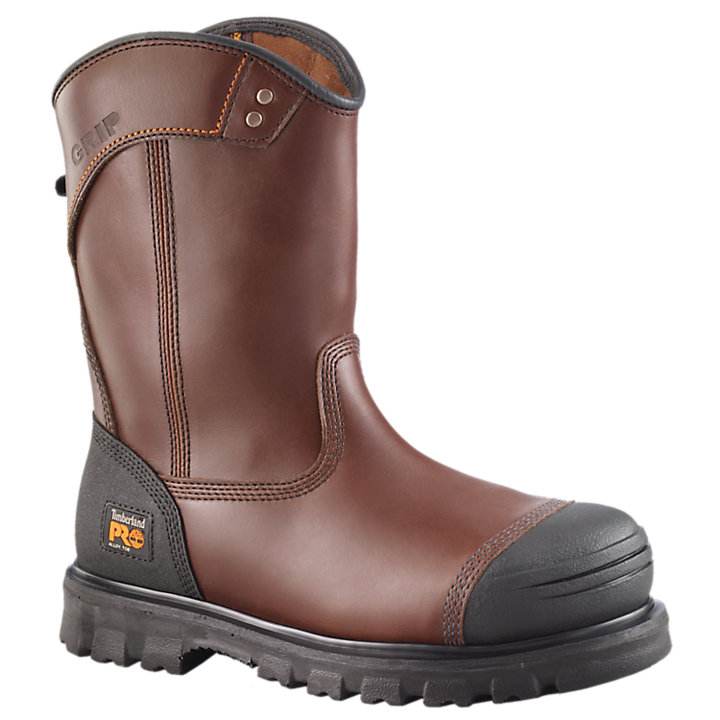 Men's Timberland PRO® Caprock Wellington Alloy Toe Work Boots-