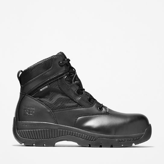 "Timberland PRO® Valor™ Duty 6"" Side-Zip Comp Toe Boots"