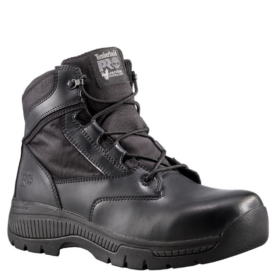 "Men's Timberland PRO® Valor™ Duty 6"" Side-Zip Soft Toe Boots"