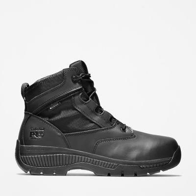 "Timberland PRO® Valor™ Duty 6"" Side-Zip Soft Toe Boots | Timberland US Store"