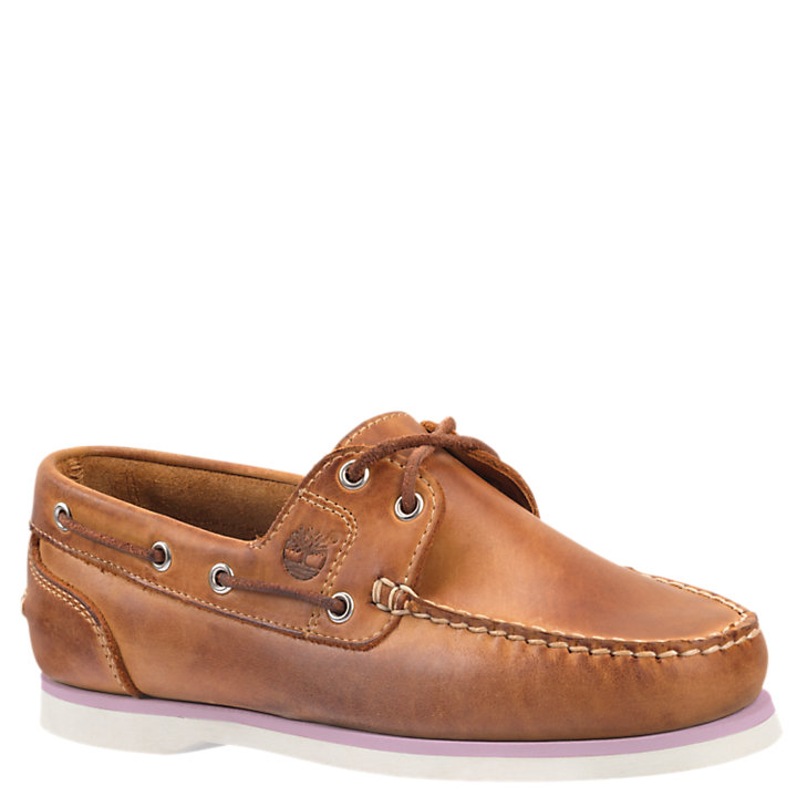 16971f9d67d285 Women's Classic Amherst 2-Eye Boat Shoes | Timberland US Store