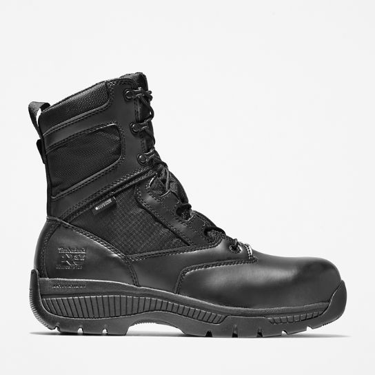 "Timberland PRO® Valor™ Duty 8"" Side-Zip Comp Toe Boots"