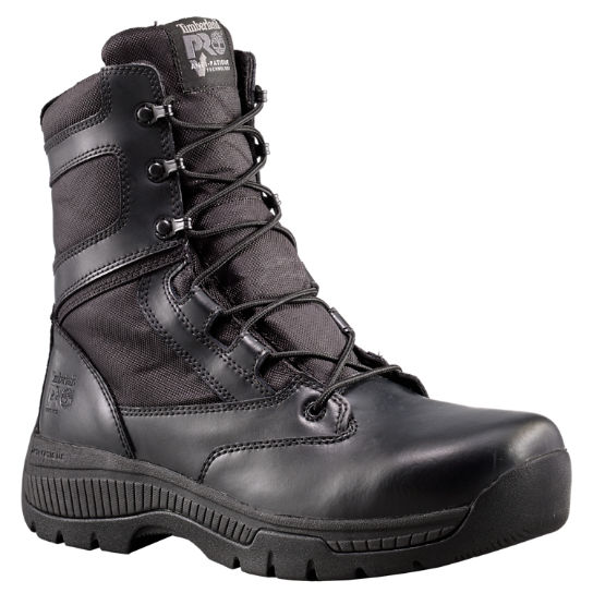 "Men's Timberland PRO® Valor™ Duty 8"" Side-Zip Soft Toe Boots"