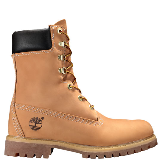 Men's 8 Inch Premium Waterproof Boots