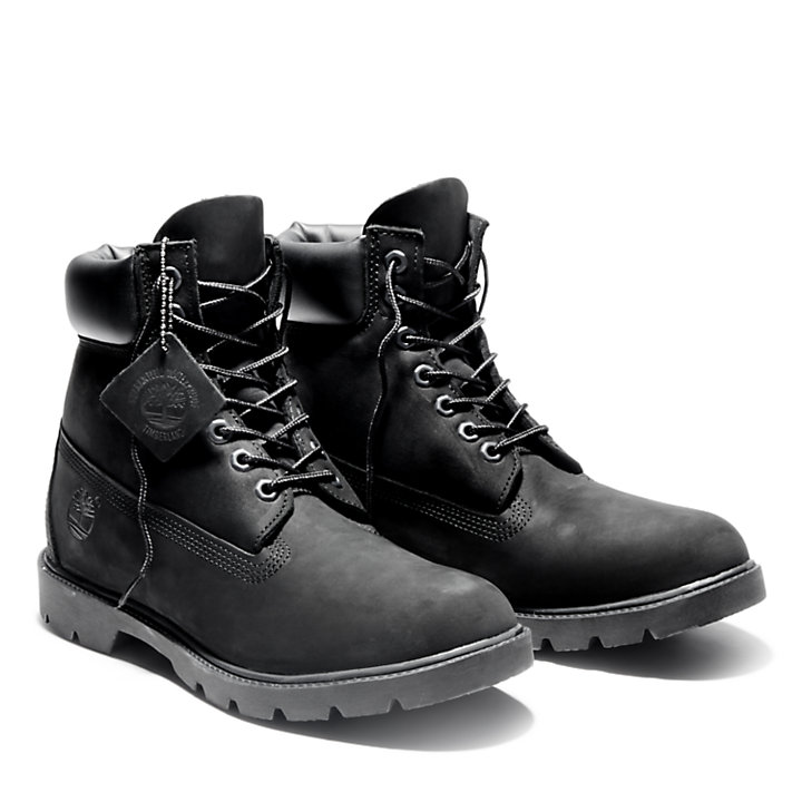 Men's 6-Inch Basic Waterproof Boots w/Padded Collar-