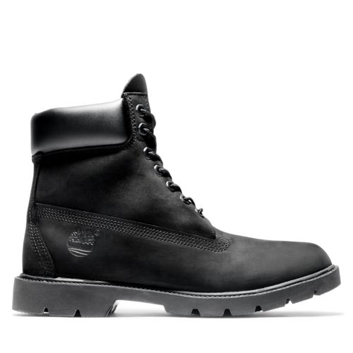 Men's 6-Inch Basic Waterproof Boots w/Padded Collar-
