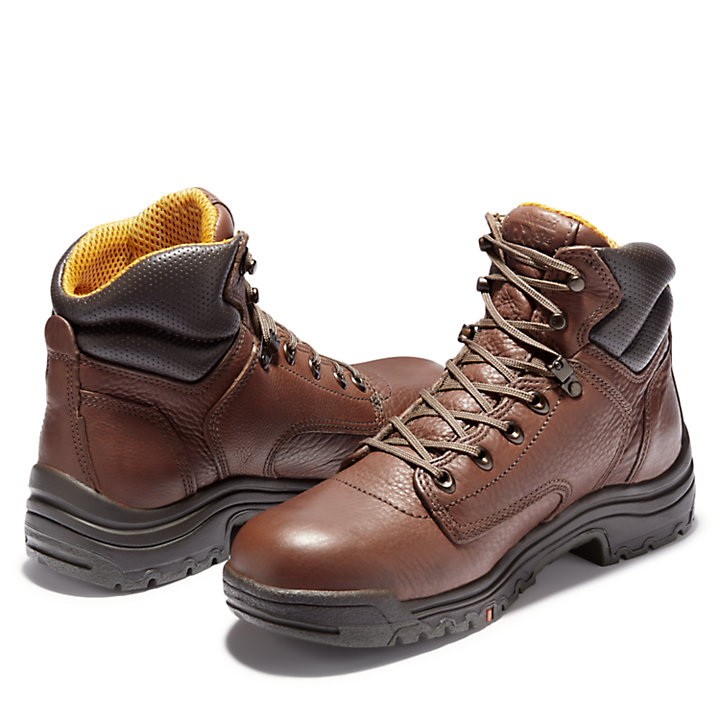 "Men's Timberland PRO® TiTAN® 6"" Soft Toe Work Boots-"