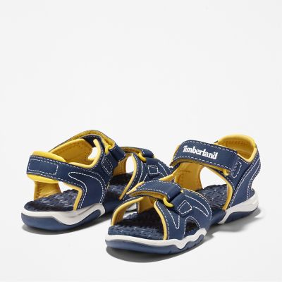 Timberland Sandstomper 2 Strap Hook /& Loop Sandals Toddlers Purple 4187R B1C