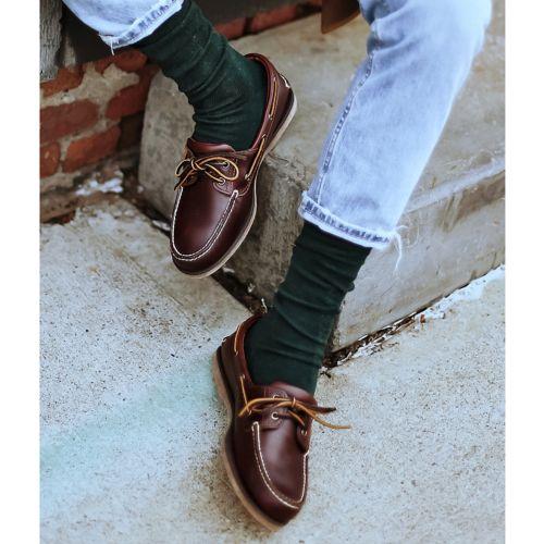 Abreviatura Parche población  Men's 2-Eye Boat Shoes | Timberland US Store