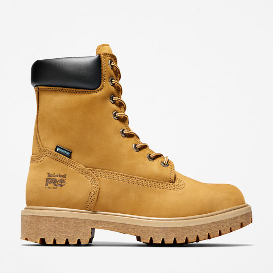 "Men's Timberland PRO® Direct Attach 8"" Steel Toe Boots"