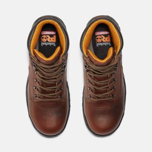 "Women's Timberland PRO® TiTAN® 6"" Alloy Toe Work Boots-"