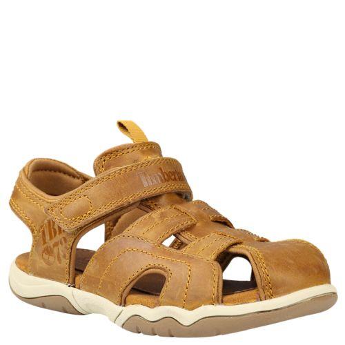 Junior Oak Bluffs Leather Fisherman Sandals-