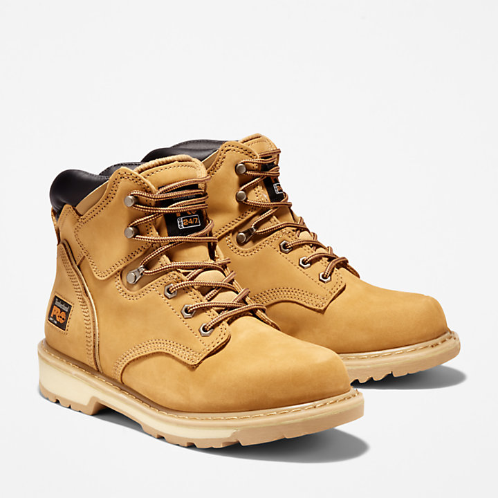 Timberland Pro 6In Pit Boss Mens Gaucho Leather Work Boots