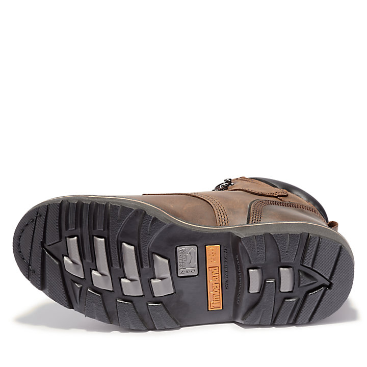 "Men's Timberland PRO® Pit Boss 6"" Steel Toe Work Boots-"