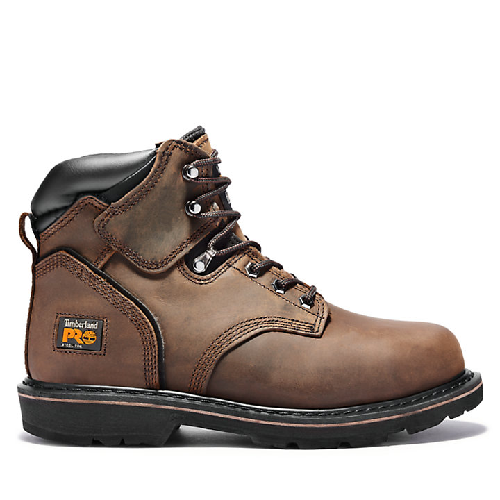 "Men's Timberland PRO® Pit Boss 6"" Steel Toe Work Boots 