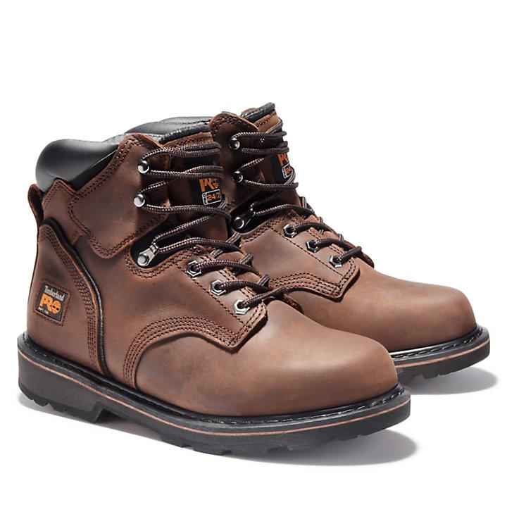 "Men's Timberland PRO® Pit Boss 6"" Soft Toe Work Boots-"