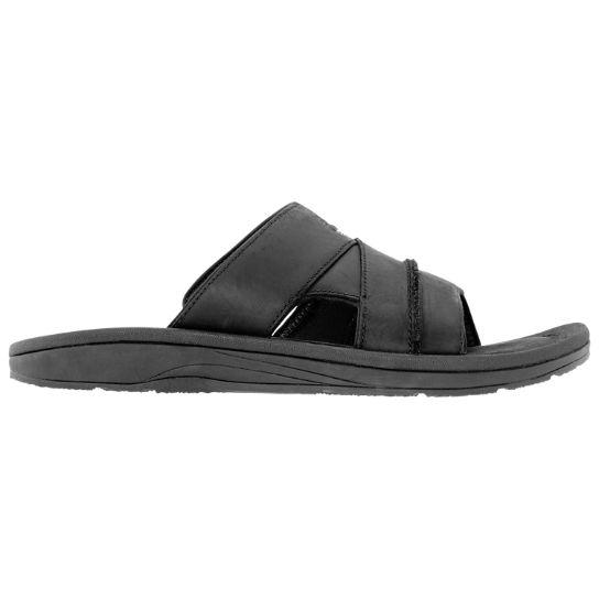 46370ab0284a Men s Leather Slide Sandals