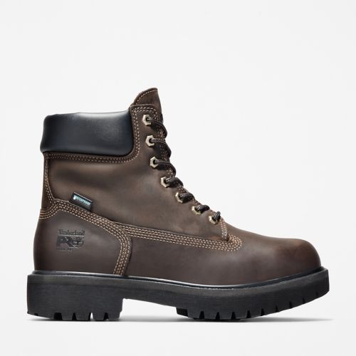 "Men's Timberland PRO® Direct Attach 6"" Steel Toe Boots-"