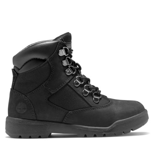 Youth 6-inch Mixed-Media  Field Boots-