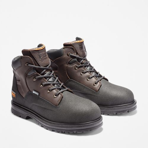 "Men's Timberland PRO® PowerWelt 6"" Steel Toe Work Boots-"