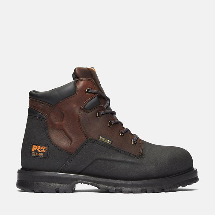"""Men's Timberland PRO® PowerWelt 6"""" Steel Toe Work Boots-"""