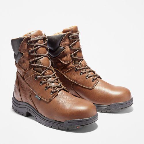 "Men's Timberland PRO® TiTAN® 8"" Alloy Toe Work Boots-"