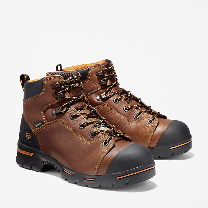 "Men's Timberland PRO® Endurance 6"" Steel Toe Work Boots-"