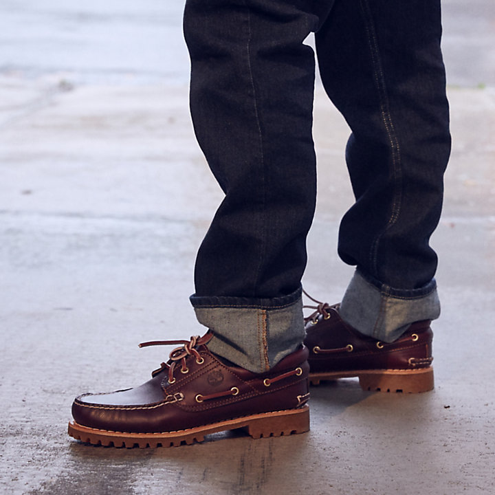 Men's Timberland® Icon 3 Eye Classic Handsewn Lug Shoes