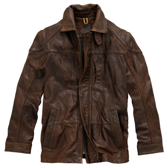 Men S Tenon Leather Jacket Timberland