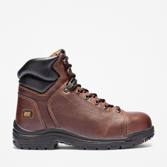 "Men's Timberland PRO® TiTAN® 6"" Lace Alloy Toe Work Boots"