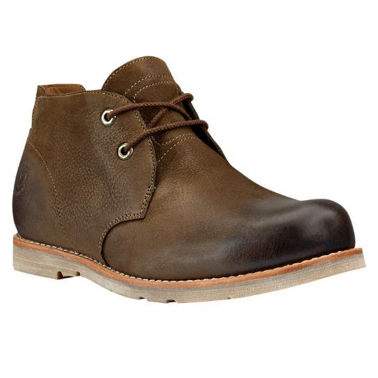 Men S Rugged Waterproof Plain Toe Chukka Boots