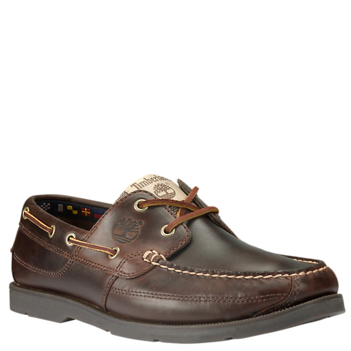 Men's Kia Wah Bay Handsewn Boat Shoes-