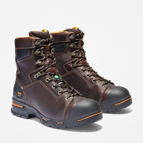 "Men's Timberland PRO® Endurance 8"" Steel Toe Work Boots-"