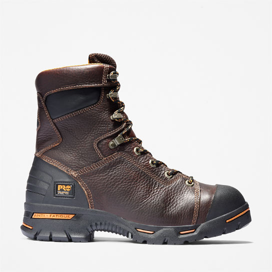 "Men's Timberland PRO® Endurance 8"" Steel Toe Work Boots"