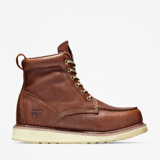 "Men's Timberland PRO® 6"" Soft Toe Wedge Boots"