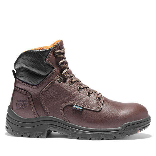"Men's Timberland PRO® TiTAN® 6"" Soft Toe Work Boots"