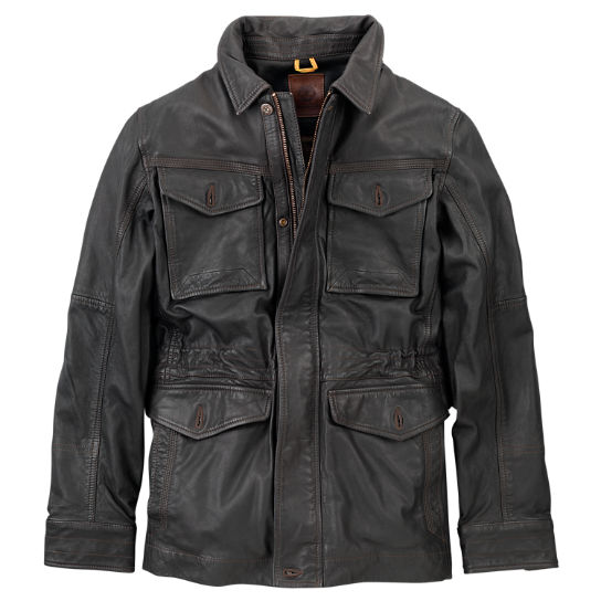 Men's Mount Major Leather Field Jacket