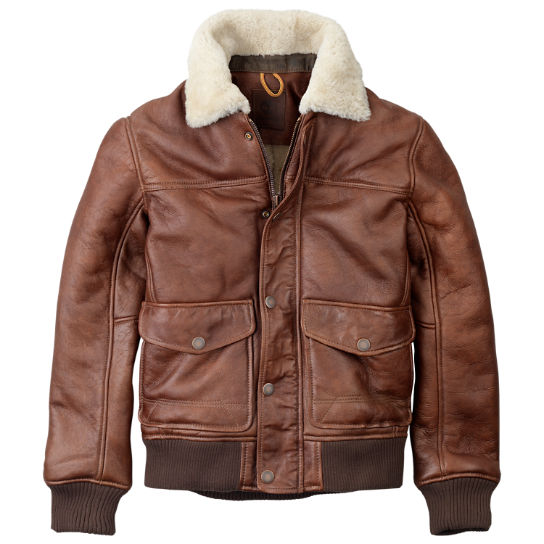 Men's Mount Major Shearling Bomber Jacket