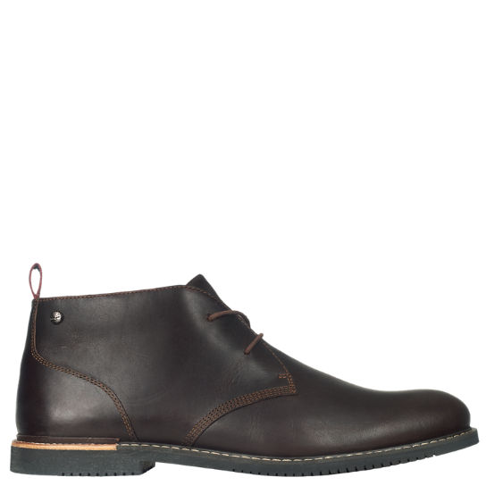 Men's Brook Park Leather Chukka Shoes