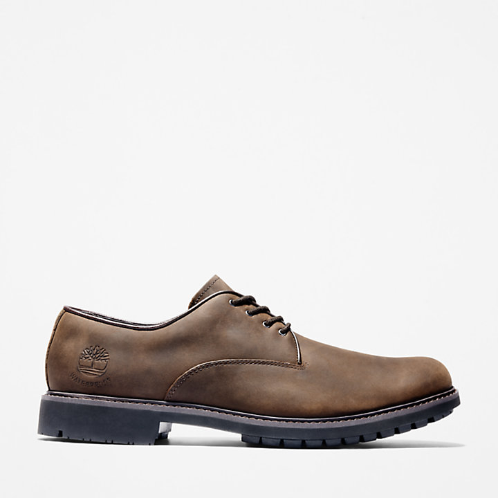 Brown Mens Timberland Stormbuck Oxford Men/'s Plain Toe 5550R