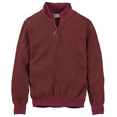 Men's Williams River Quarter-Zip Sweater