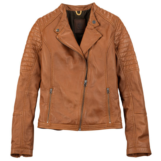 Women's Belknap Leather Biker Jacket | Timberland US Store
