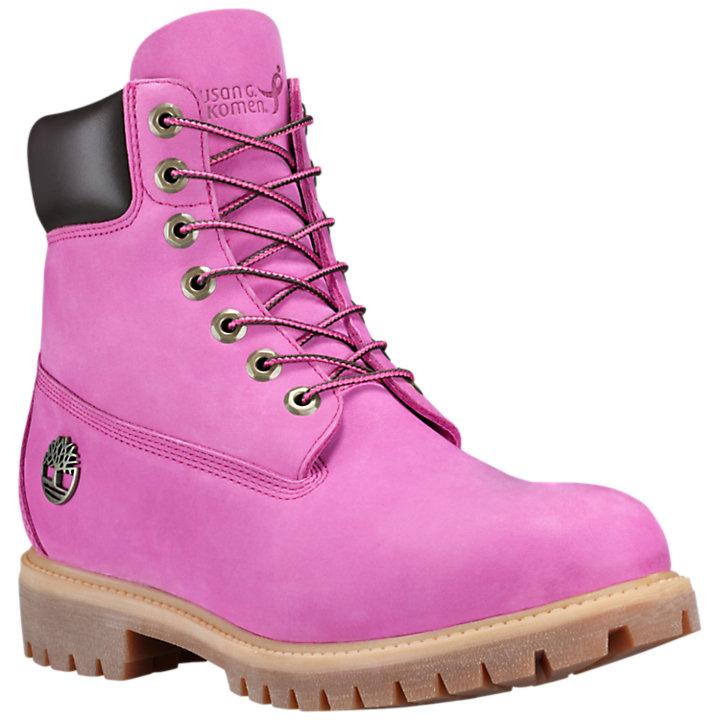 3b2346c34 Men's Limited Release Susan G. Komen 6-Inch Premium Waterproof Boots ...