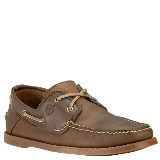 timberland heritage mens boat shoes