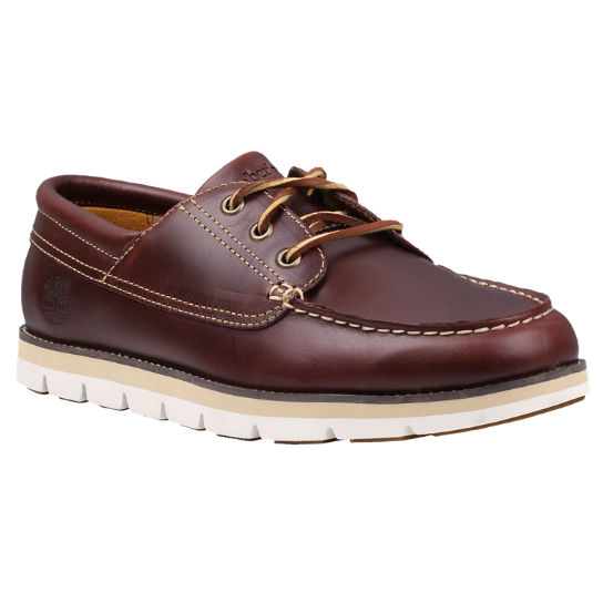 Timberland Earthkeepers Harborside 3-Eye Leather- Brown boat shoes