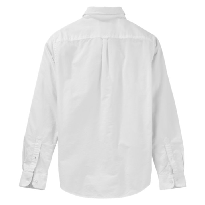 Men's Long Sleeve Pleasant River Oxford Shirt-