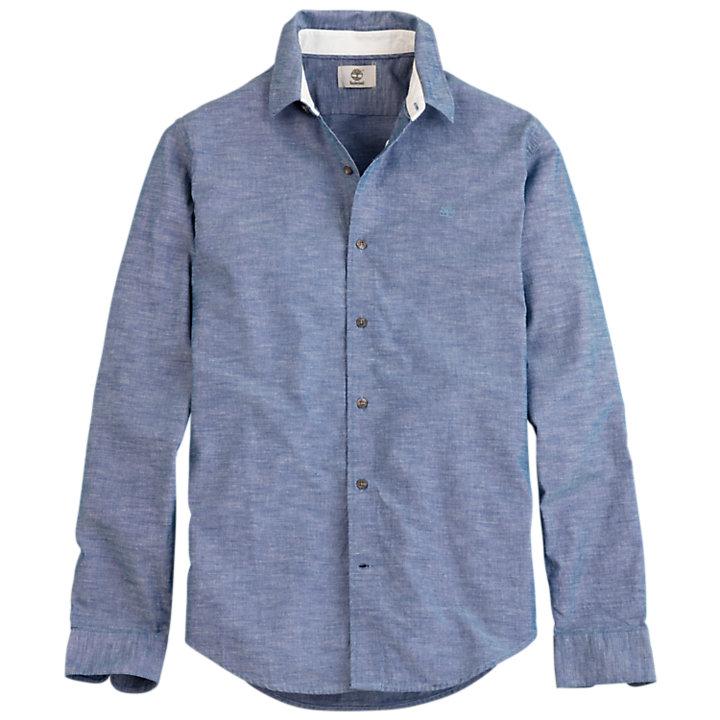 Men's Rattle River Slim Fit Chambray Shirt-